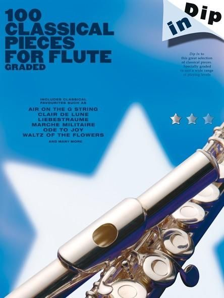 N/A - Dip In 100 Classical Pieces For Flute (Graded)