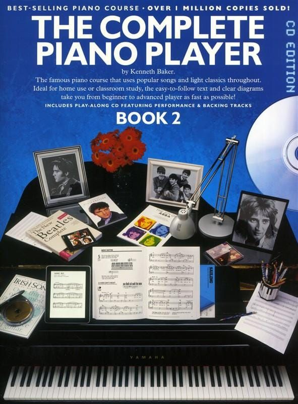 The Complete Piano Player Book 2 (Book + CD)