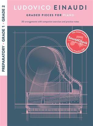 Einaudi Graded Pieces For Piano - Preparatory to Grade 2 (Book + Interactive App)
