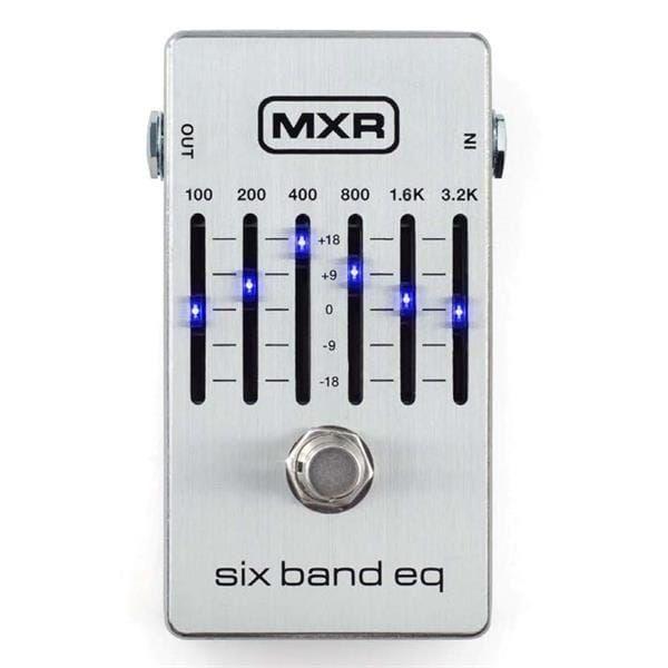 MXR 6B Equalizer Pedal Silver