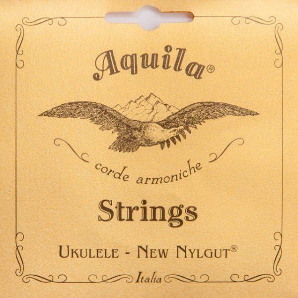 Aquila Single 4th Low G Concert Ukulele Wound String