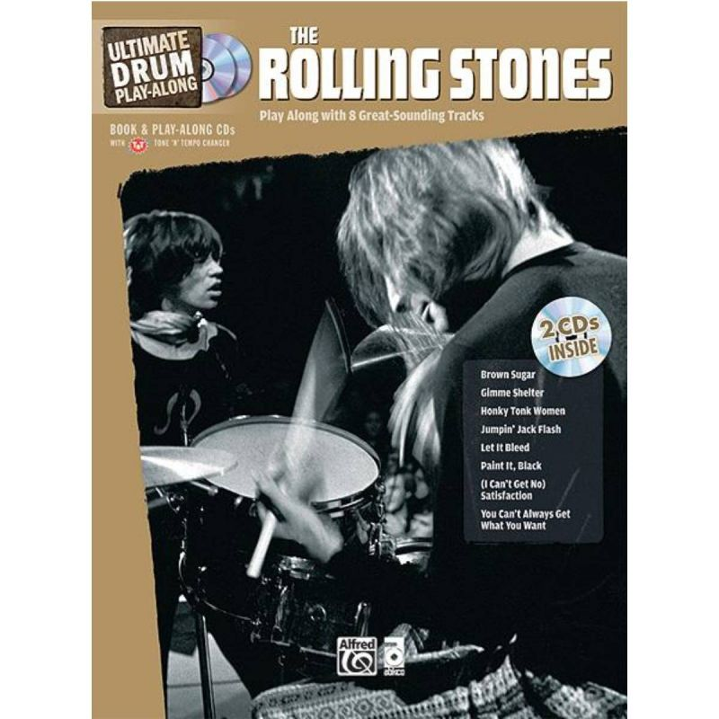 Rolling Stones - Ultimate Drum Playalong The Rolling Stones