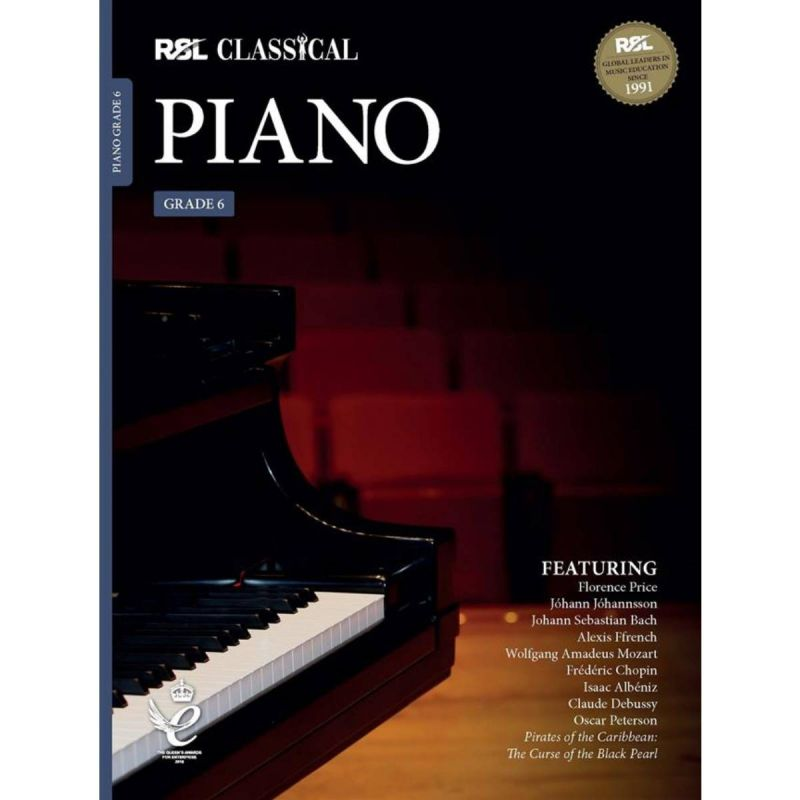 RSL Classical Piano Grade 6 from 2021