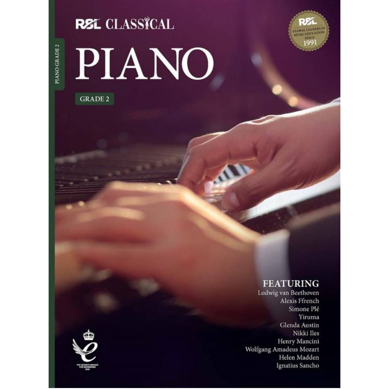 RSL Classical Piano Grade 2 from 2021