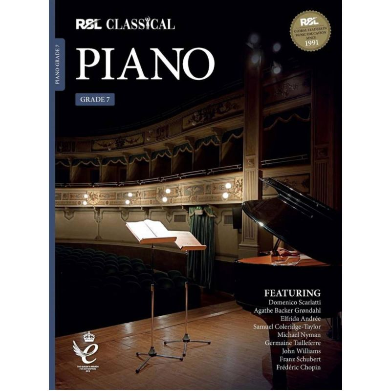 RSL Classical Piano Grade 7 from 2021