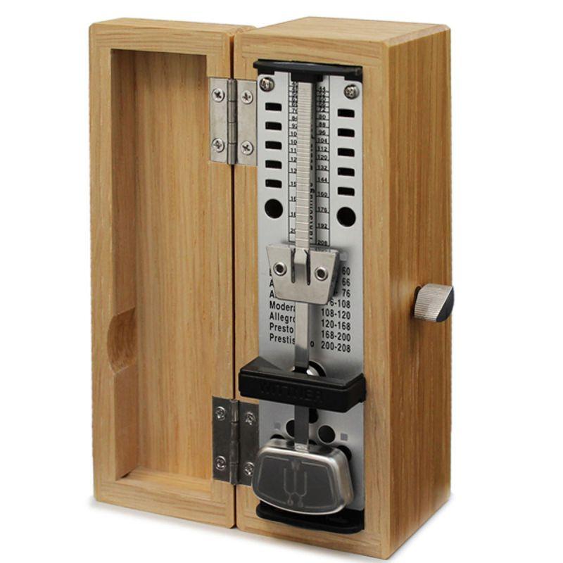 Wittner Taktell Super Mini Wooden Metronome, Light Oak