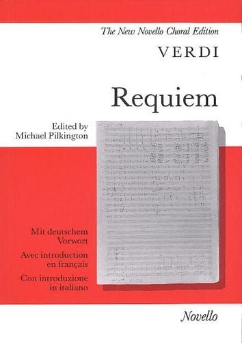 Verdi, Giuseppe - Verdi Requiem (Vocal Score)