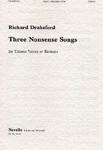Drakeford, Richard - Richard Drakeford Three Nonsense Songs