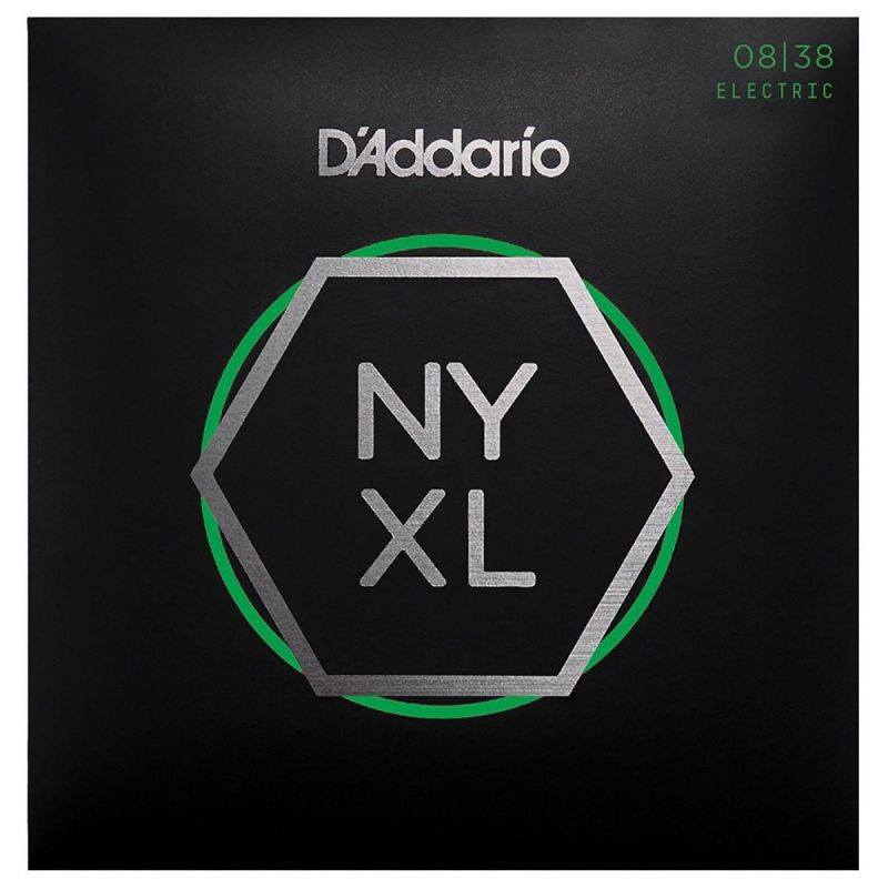 D'Addario NYXL0838 08-38 Nickel Wound Electric Guitar Strings