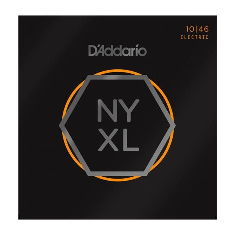 D'Addario NYXL1046 Electric Guitar Strings Regular Light 10-46
