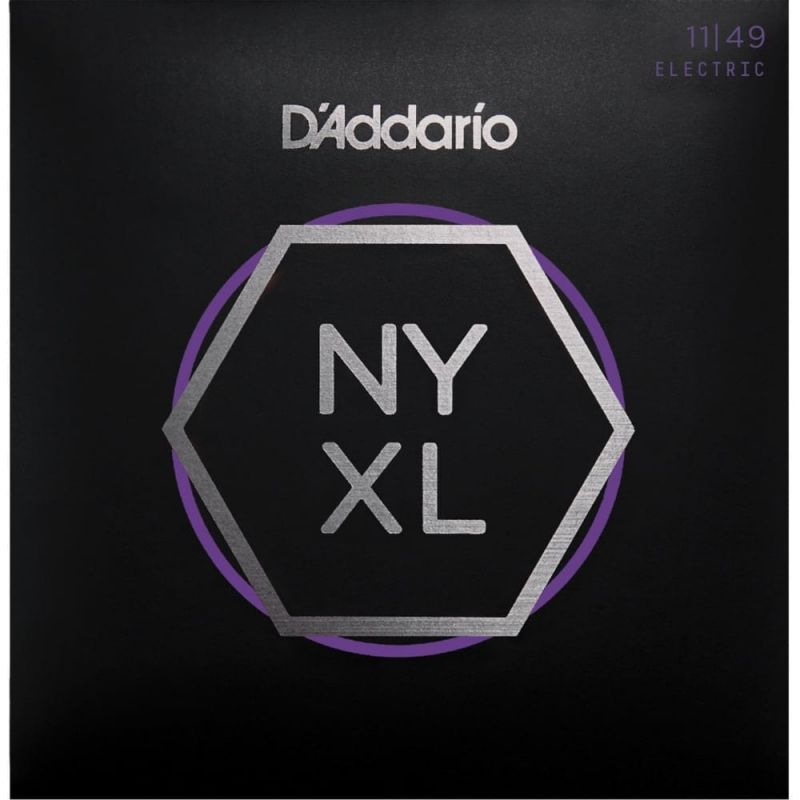 D'Addario NYXL1149 11-49 Nickel Wound Electric Guitar Strings