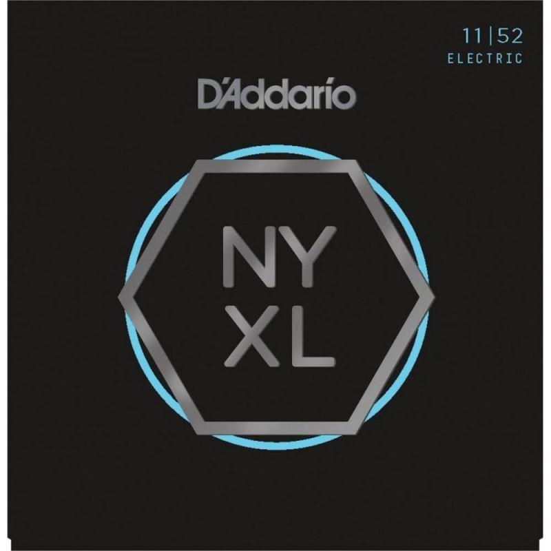 D'Addario NYXL1152 11-52 Nickel Wound Electric Guitar Strings