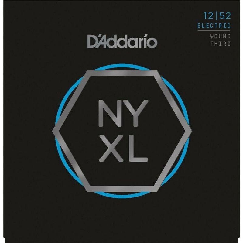 D'addario Set Electric Guitar NYXL Lite Wound 3rd Strings