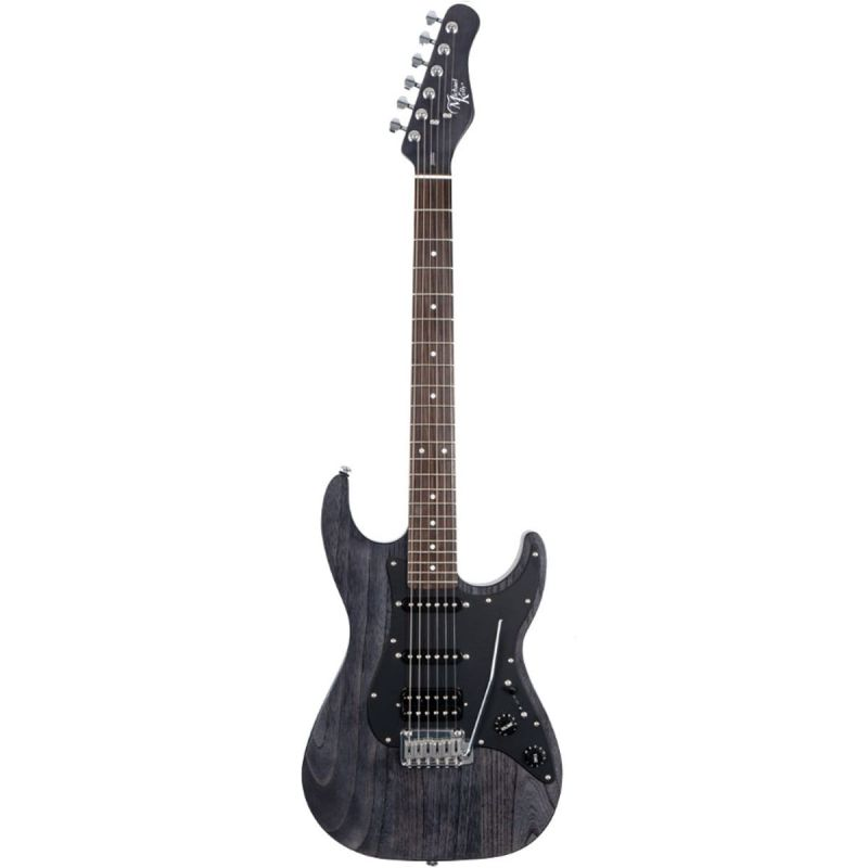 Michael Kelly MK63OBKERB 1963 Electric Guitar, Open Pore Black