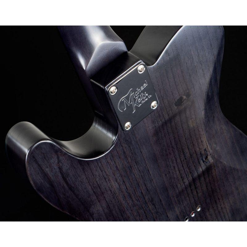 Michael Kelly MK54OBKERO 1954 Electric Guitar, Open Pore Black