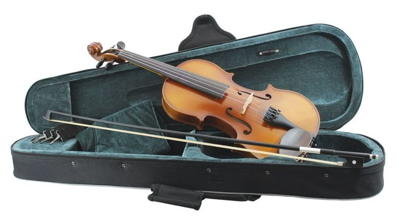 Primavera 200 Violin Outifit, Full Size, with Silver Set up