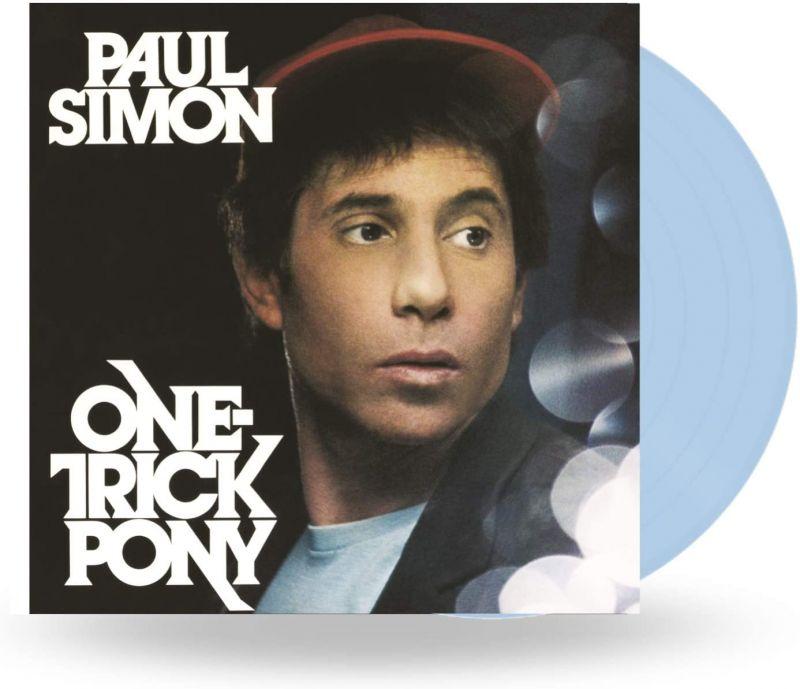 PAUL SIMON - ONE TRICK PONY - BLUE VINYL - NAD20