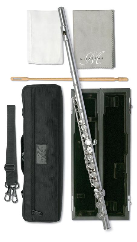 Miyazawa PB202E Flute, Silver Head Joint