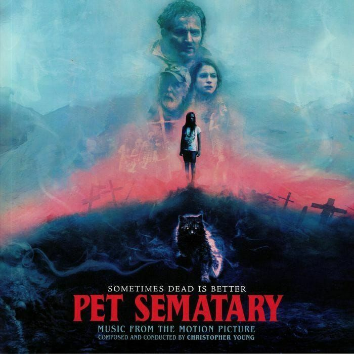 CHRISTOPHER YOUNG - PET SEMATARY - 2LP COLOURED VINYL