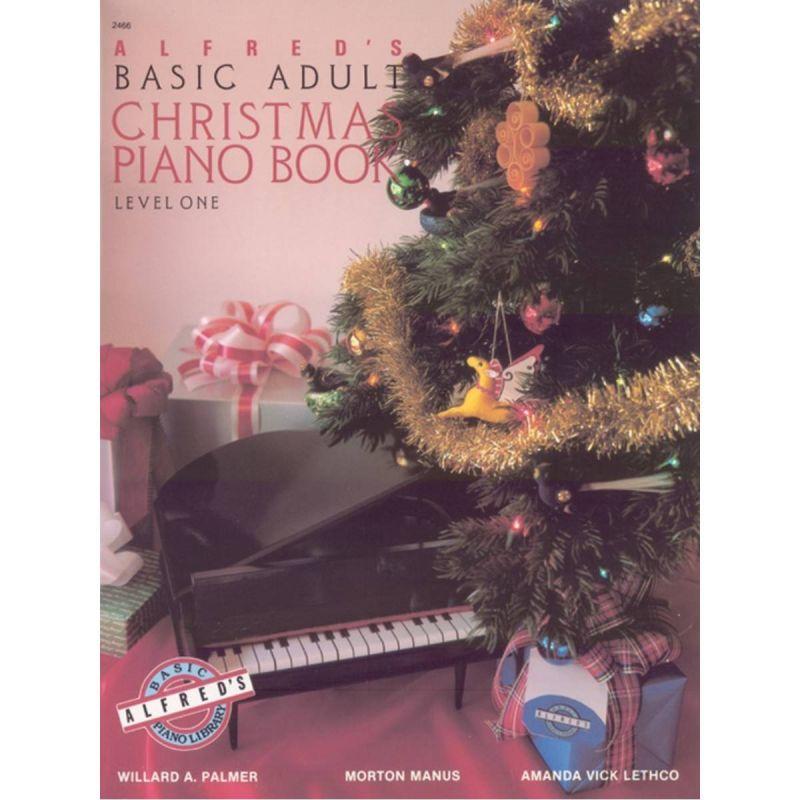 Palmer, Manus & Lethco - Alfred'S Basic Adult Christmas Book Lv 1