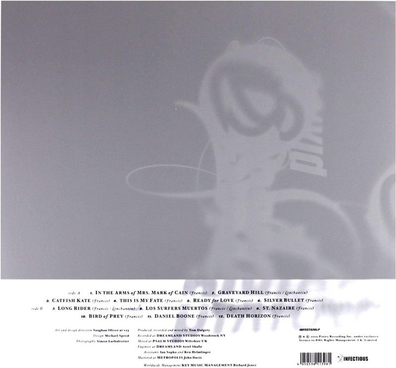 Pixies - Beneath The Eyrie - Coloured Vinyl