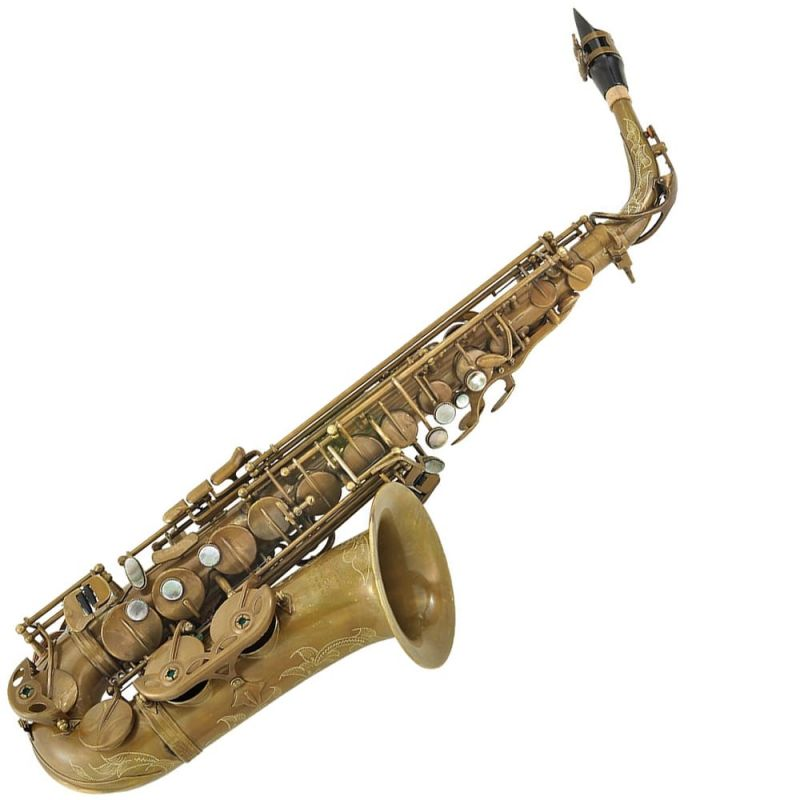 P Mauriat 67R Alto Saxophone - Unlacquered