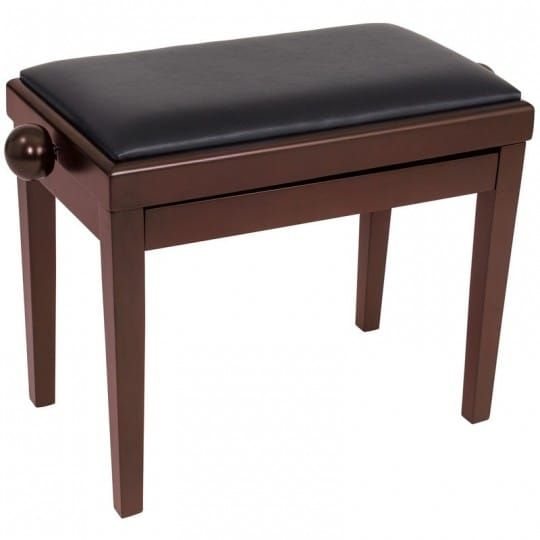 Kinsman Adjustable Piano stool in Brown