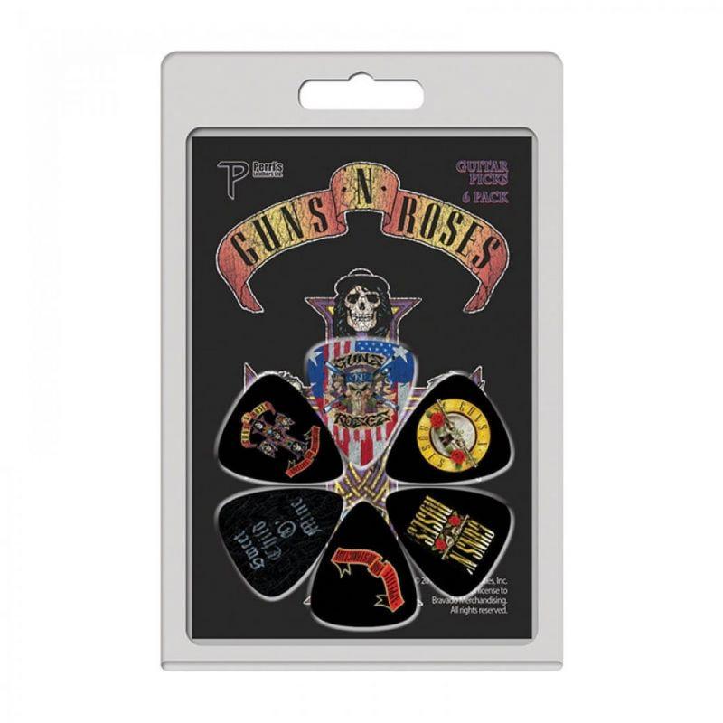 Perri 6 Pack Guns And Roses Picks GR2