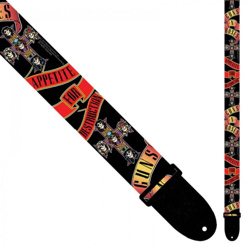 Perris 6013 Guns And Roses Poly Strap Banner
