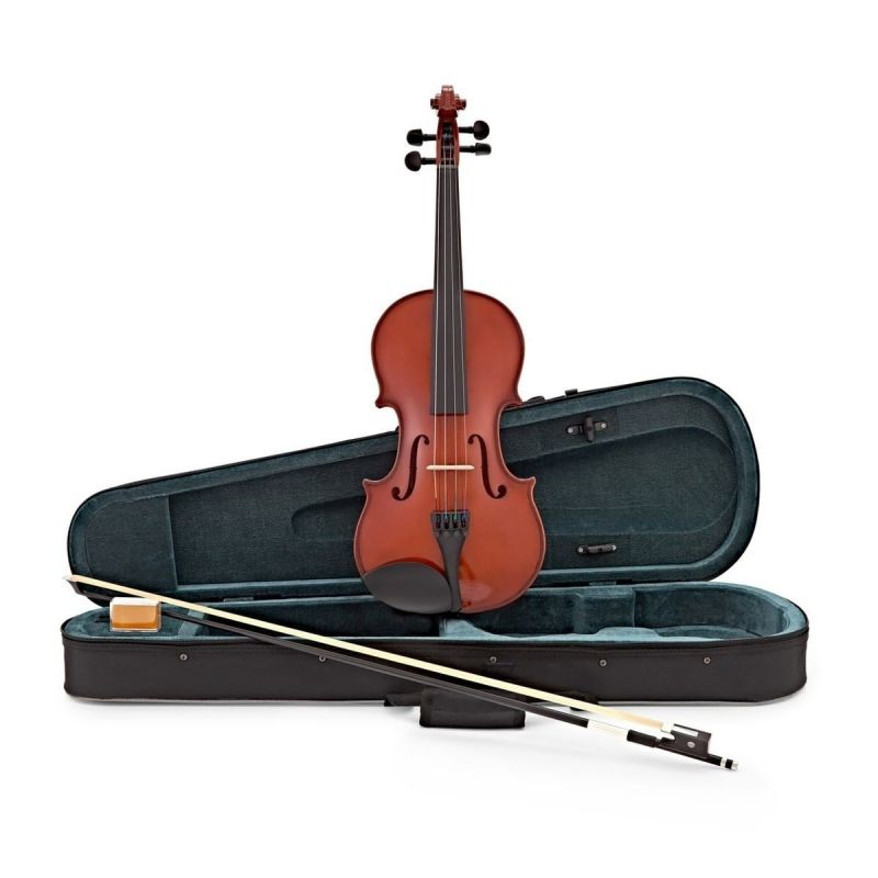 Primavera 200 Violin Outifit, 3/4 Size, with Silver Set up