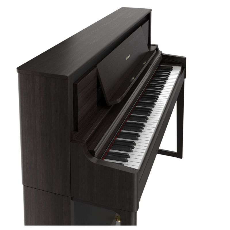 Roland LX706-DR Luxury Upright Piano In Dark Rosewood