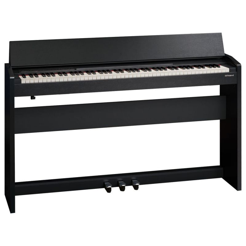 Roland F140RCB Digital Piano in Satin Black