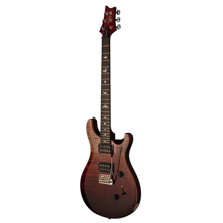 PRS SE Custom 24 Limited Edition in Charcoal Cherry Fade