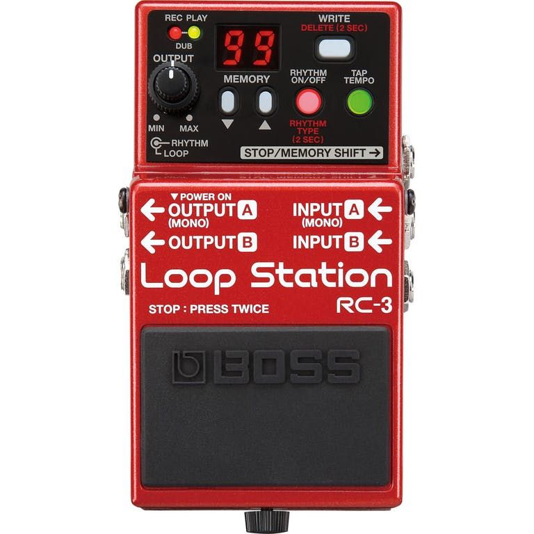 Boss RC3 Loopstation Pedal
