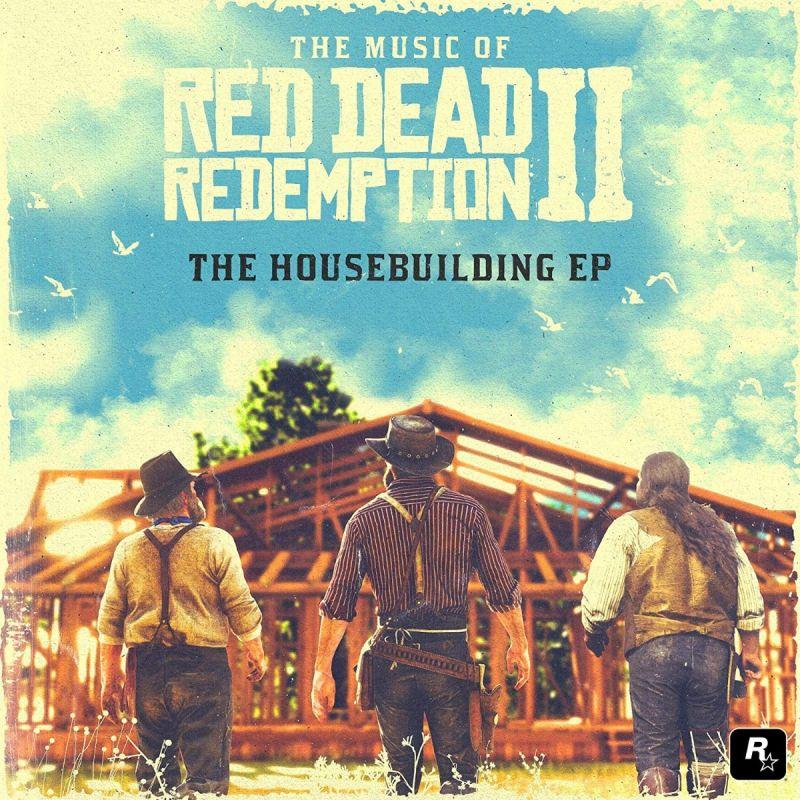 VARIOUS ARTISTS - RED DEAD REDEMPTION II HOUSEBUILDING - BLUE VINYL