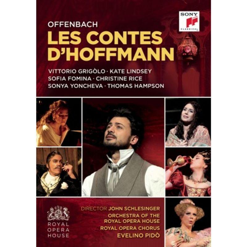 VITTORIO GRIGOLO - OFFENBACH/LES CONTES D'HOFFMANN (DVD)
