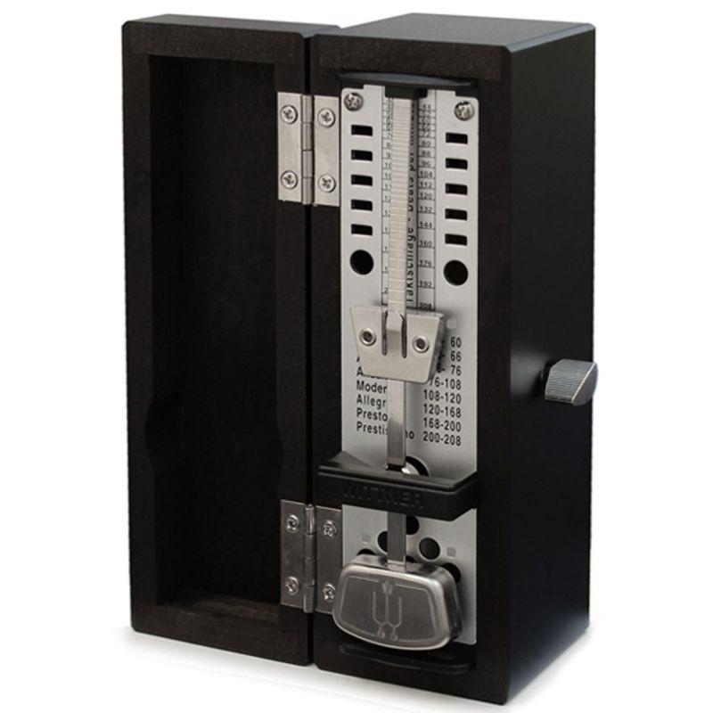Wittner Taktell Super Mini Wooden Metronome, Blackwood