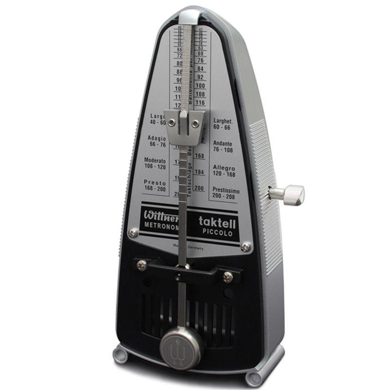 Wittner Taktell Piccolo Metronome, Silver
