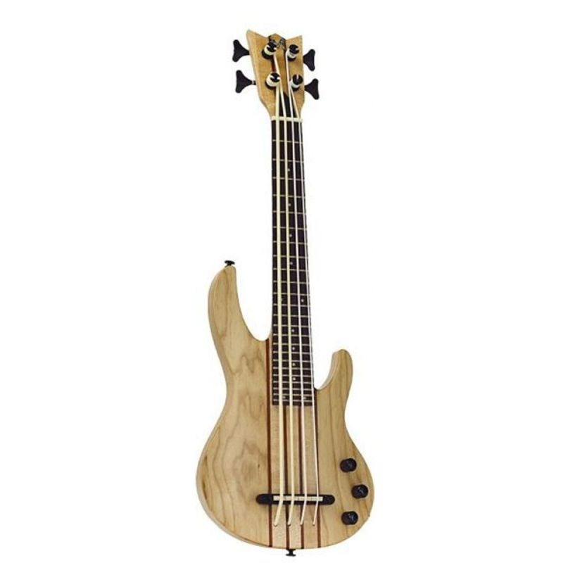 Mahalo Solid Electric Bass Ukulele