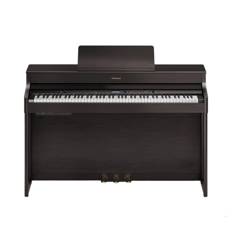 Roland HP702 Concert Class Piano, Dark Rosewood