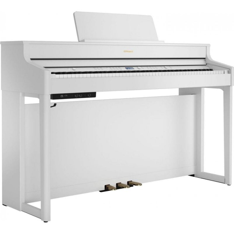 Roland HP702 Concert Class Piano, White