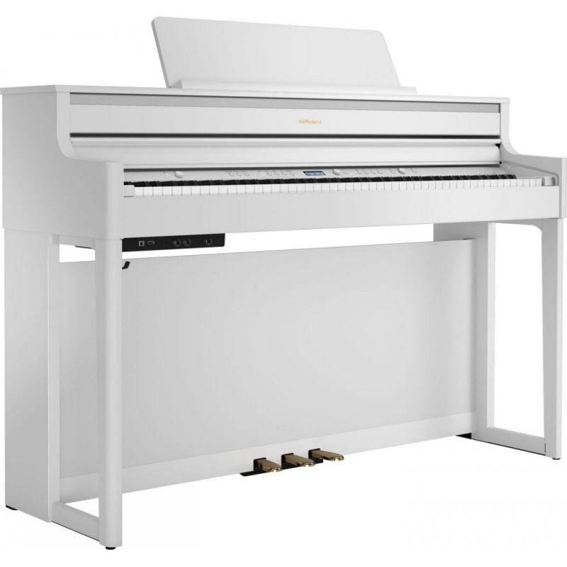Roland HP704 Premium Concert Class Piano, White