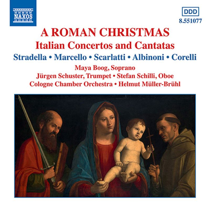 COLOGNE CO MULLER-BRUHL - A ROMAN CHRISTMAS - ITALIAN CONCERTOS