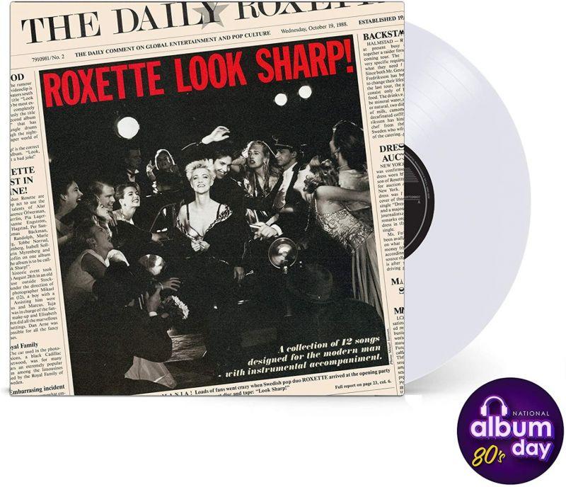 ROXETTE - LOOK SHARP - CLEAR VINYL LP - NAD20