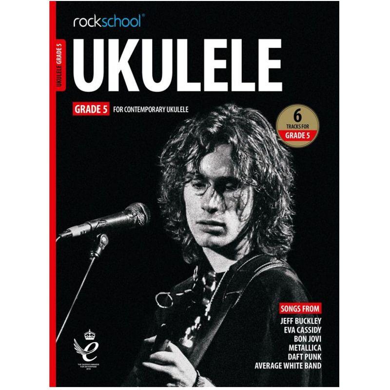 Rockschool Ukulele - Grade 5 from 2020 (Book + Online Audio)