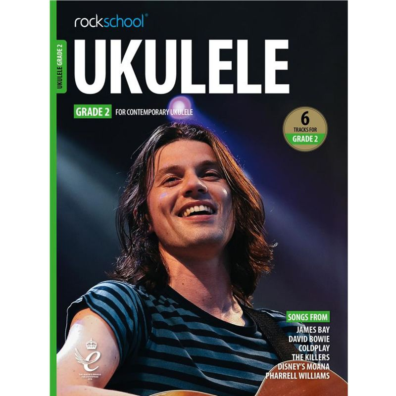 Rockschool Ukulele - Grade 2 from 2020 (Book + Online Audio)
