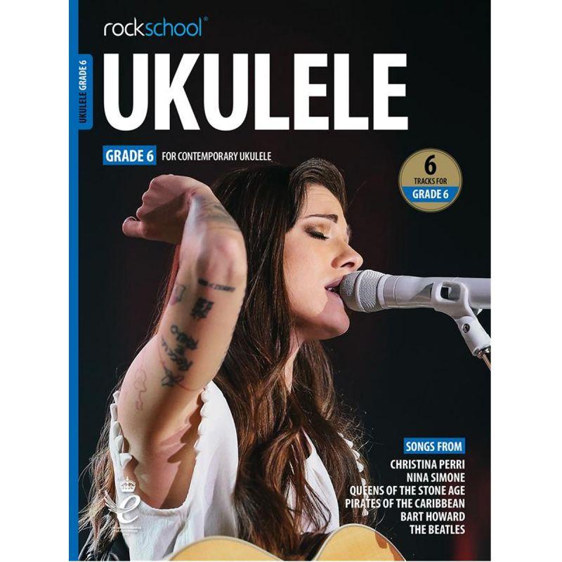 Rockschool Ukulele - Grade 6 from 2020 (Book + Online Audio)