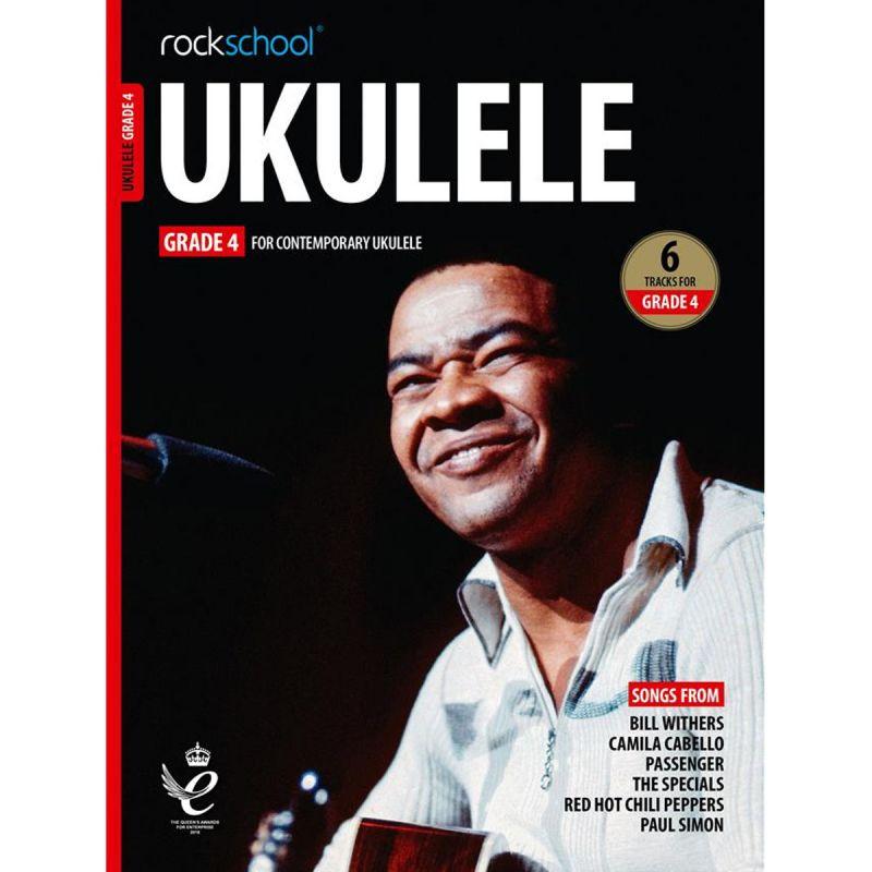 Rockschool Ukulele - Grade 4 from 2020 (Book + Online Audio)