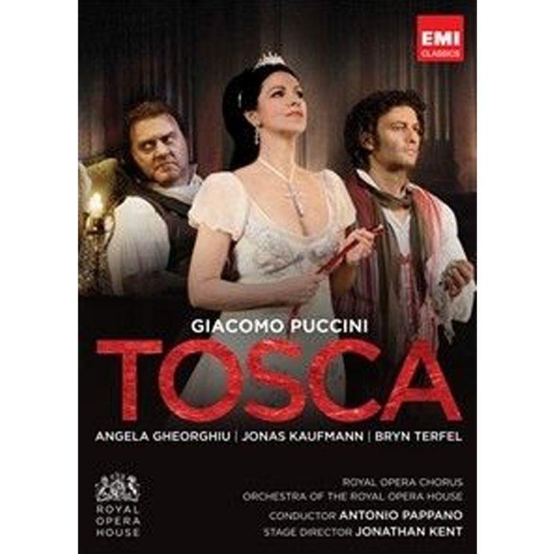 ANGELA GHEORGHIU - PUCCINI TOSCAROYAL OPERA (DVD)