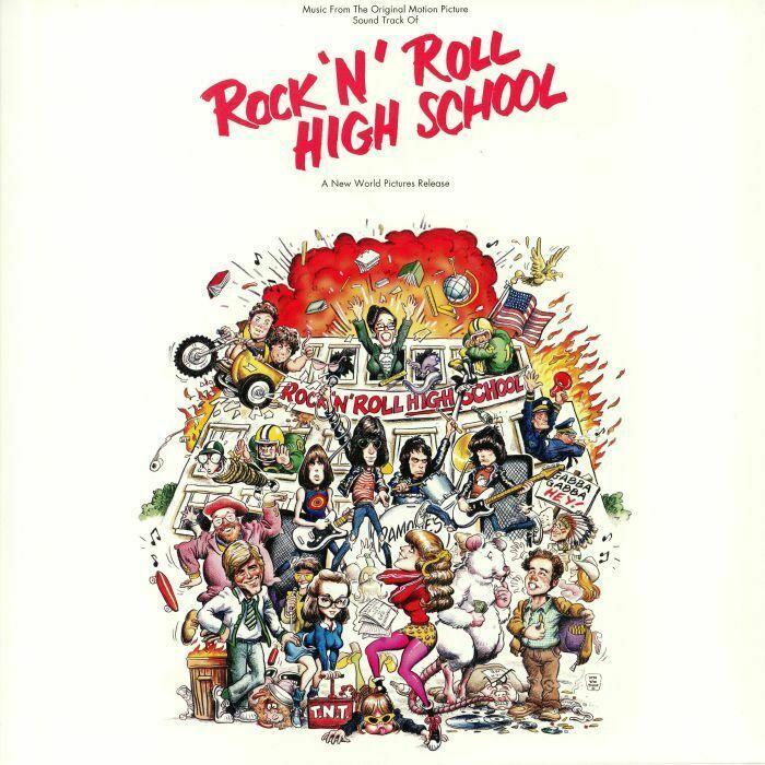 VARIOUS ARTISTS - ROCK 'N' ROLL HIGH SCHOOL - COLOUR VINYL